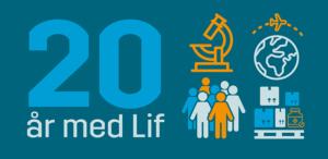 20 år med Lif – lægemiddelindustrien i tal